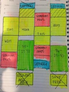 kalenteri, aikataulutus, järjestys