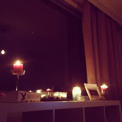 candles, happy home, romantic night