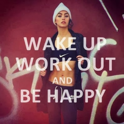 workout, be happy