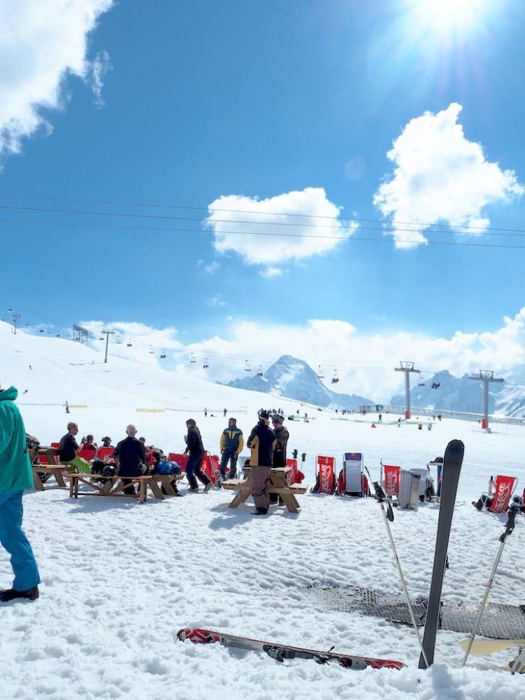 Les Deux Alps, Fit Times, Janina Pohja, STS Alppimatka