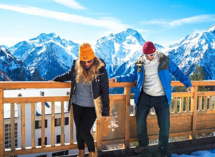 Vai-ko clothing, Janina Pohja, Les Deux Alps, Alpit