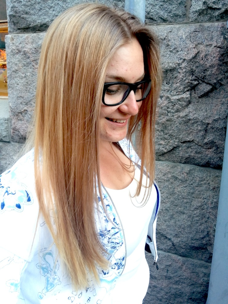 Oona Sahla, Hair Design Helsinki, #hdhoona, kampaaja, helsinki, luottokampaaja, balayage, suomi, hiustenvärjäys, leikkaus, Fit Times, Janina Pohja