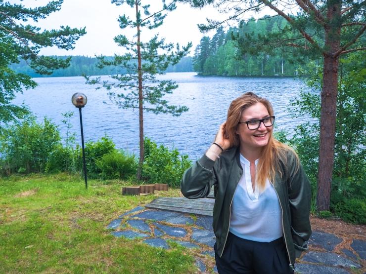 Janina Pohja, Fit Times, bloggaaja, itsevarmuus, Kitee