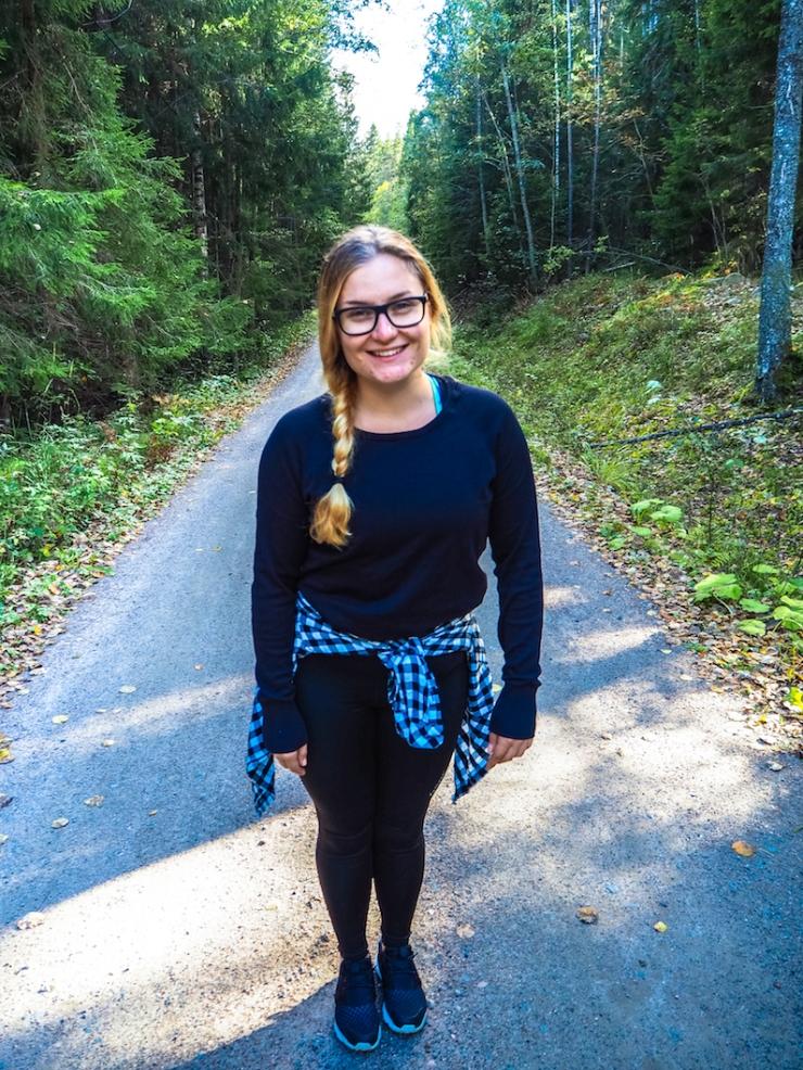 Janina Pohja, Fit Times, Nuuksio, Espoo, Visit Finland, luontopolku
