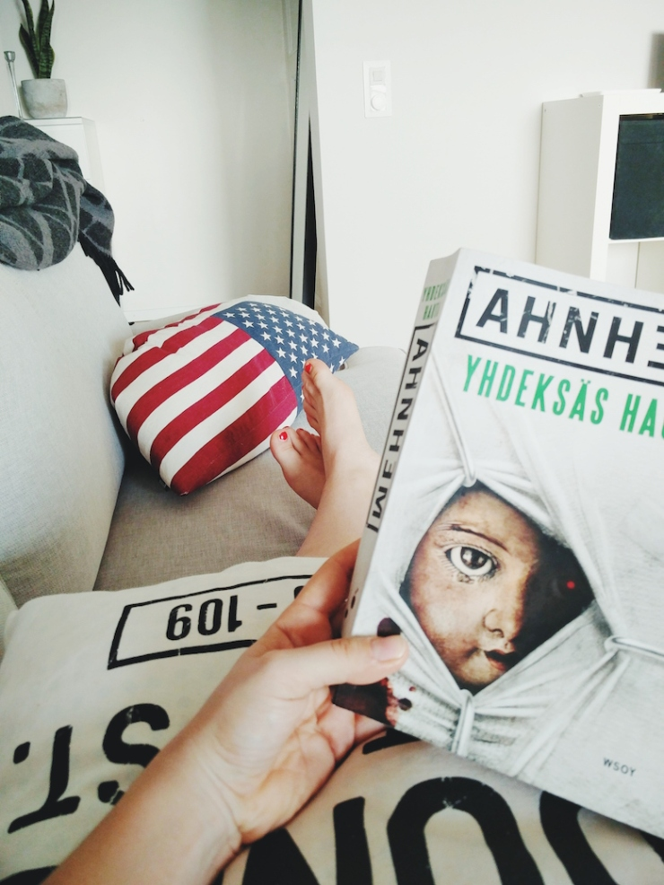 Janina Michaela, bloggaaja, Ahnhem, sairastuminen, flunssa, kirjasuositus, oivallus, vinkki