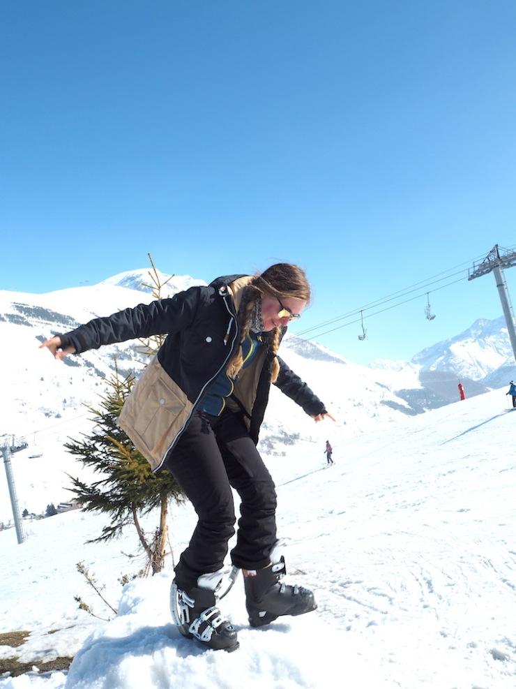 Janina Michaela, Janina Pohja, oppari, perfectionismpi, Les Deux Alps, onnellinen, huojentunut, onnistuminen