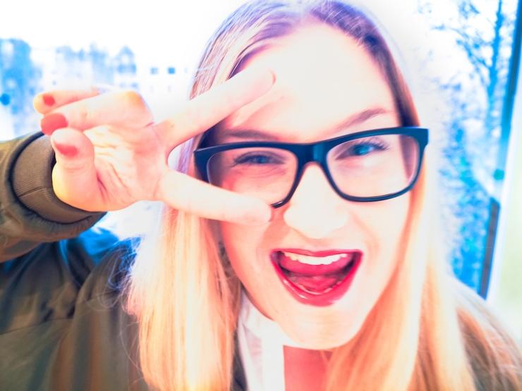 Janina Pohja, Janina Michaela, bloggaaja, omatunto, hyvännäköinen, ulkonäkö, haukkuminen