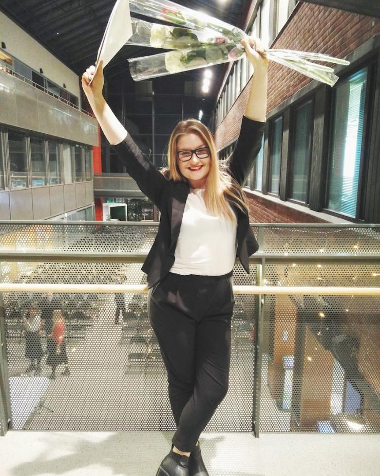 Janina Michaela, Haaga-Helia, tradenomi, valmistuminen, BBA, Bachelor of Business Administration, markkinoinnin tradenomi, tapahtumatuottaja, mitä opiskella, jatko-opiskelu, ammattikorkeakoulu
