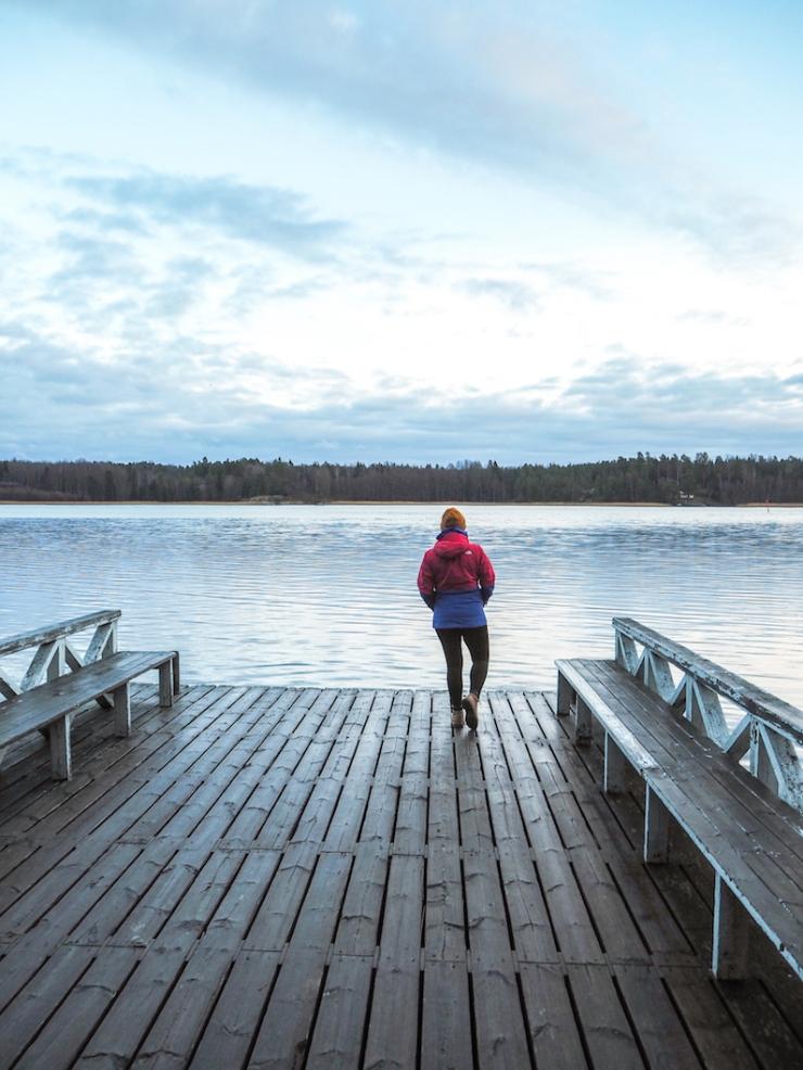 Janina Michaela, Tammisaari, talviuinti, avantouinti, sinä päivänä, virheitä, ihmisluonne, teetkö sinäkin virheitä, onnellinen, laituri, lifestyle-blogi, bloggaaja