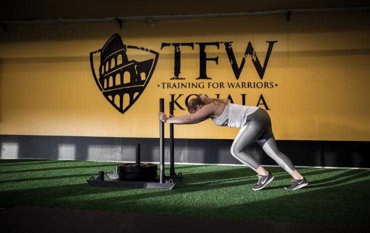 TFW Konala, TFW Warrior Challenge, Katarina Kirvesmäki, valokuvaus, sporttimalli, Janina Michaela, bloggaaja, hyvinvointi, treenaaminen, Helsingin paras sali, oppiminen, yhteishenki, kokemuksia