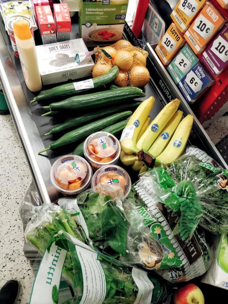 resepti, ruoanlaitto, mausteinen linssipata, helppo kasvisruoka, kotikokki, vegaaniruoka, ruokablogi, bloggaaja, Santa Maria, kotiruokaa, mitä tänään syötäisiin