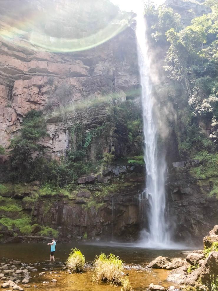Lone Creek Fall, Bridal Veil, vaellus, vaellusreitti, nähtävyydet, vesiputous, matkablogi, matkavinkki, matkakokemus, Etelä-Afrikka, Sabie, Graskop, Hazyview, luonto, Janina Michaela