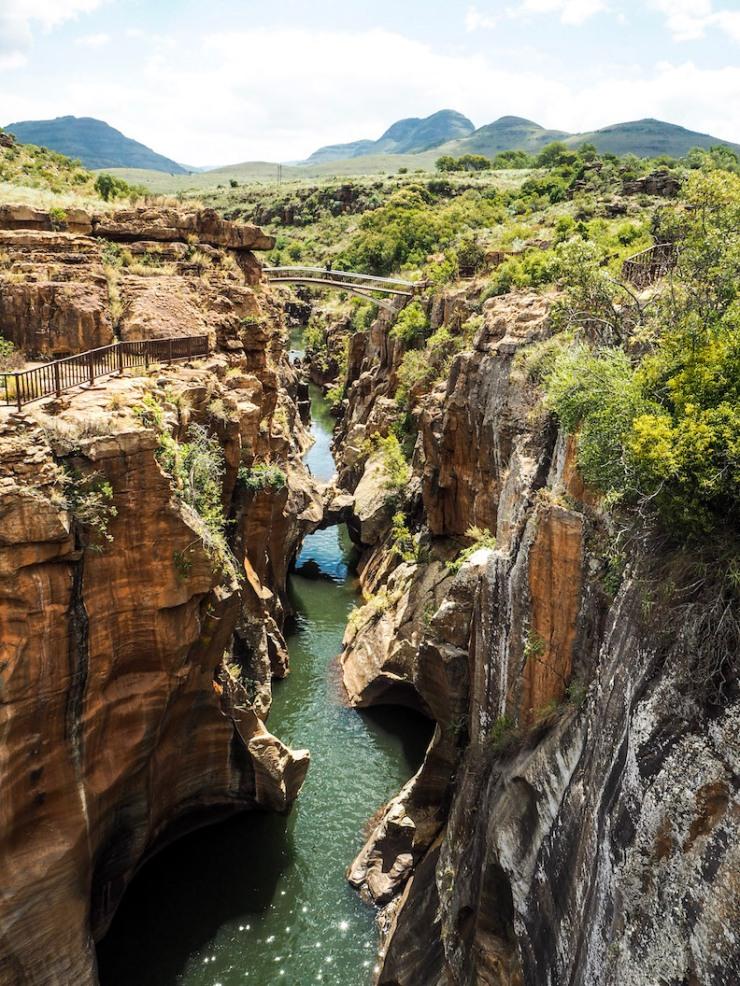Three Rondavels, Blyde River Canyon, Bourke's Luck Potholes, God's Window, Pinnacle, Panorama Route, nähtävyys, Etelä-Afrikka, Graskop, mitä tehdä, matkablogi, turistina, luonto, vaellus, matkustus, roadtrip, Janina Michaela